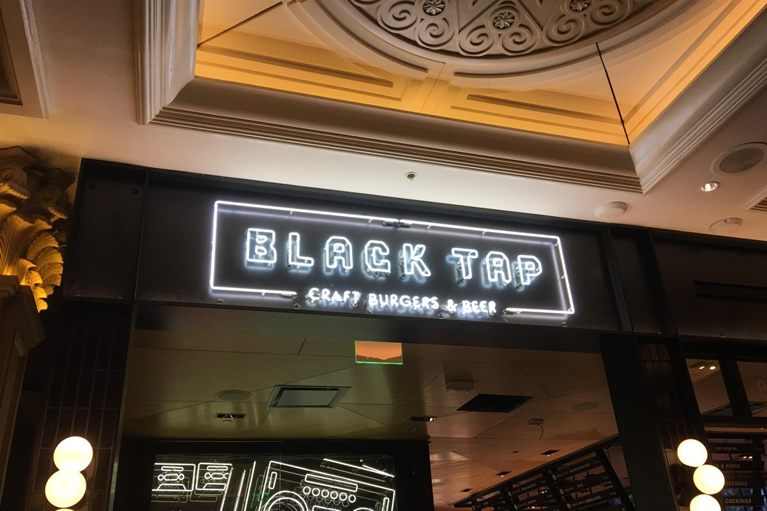 Black Tap Neon Sign