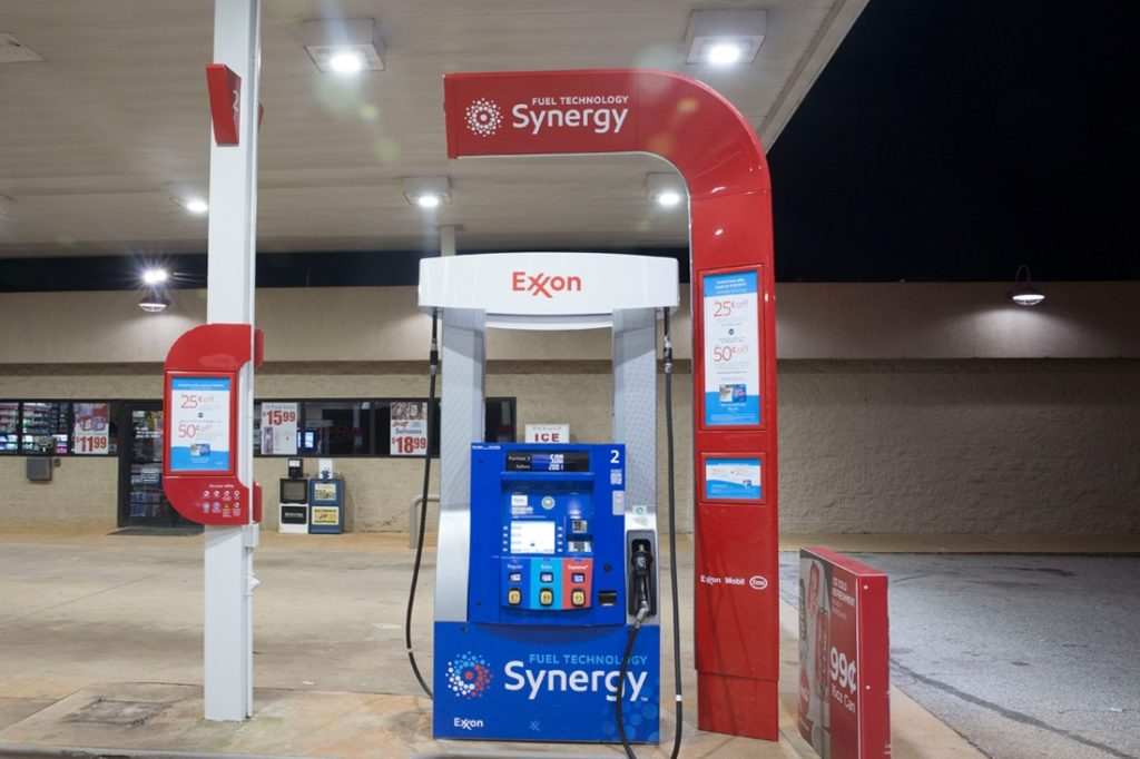 exxon synergy wave and dispenser