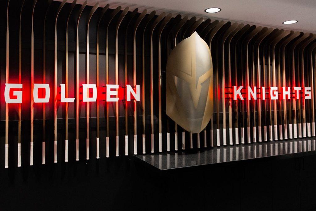 golden knights interior sign