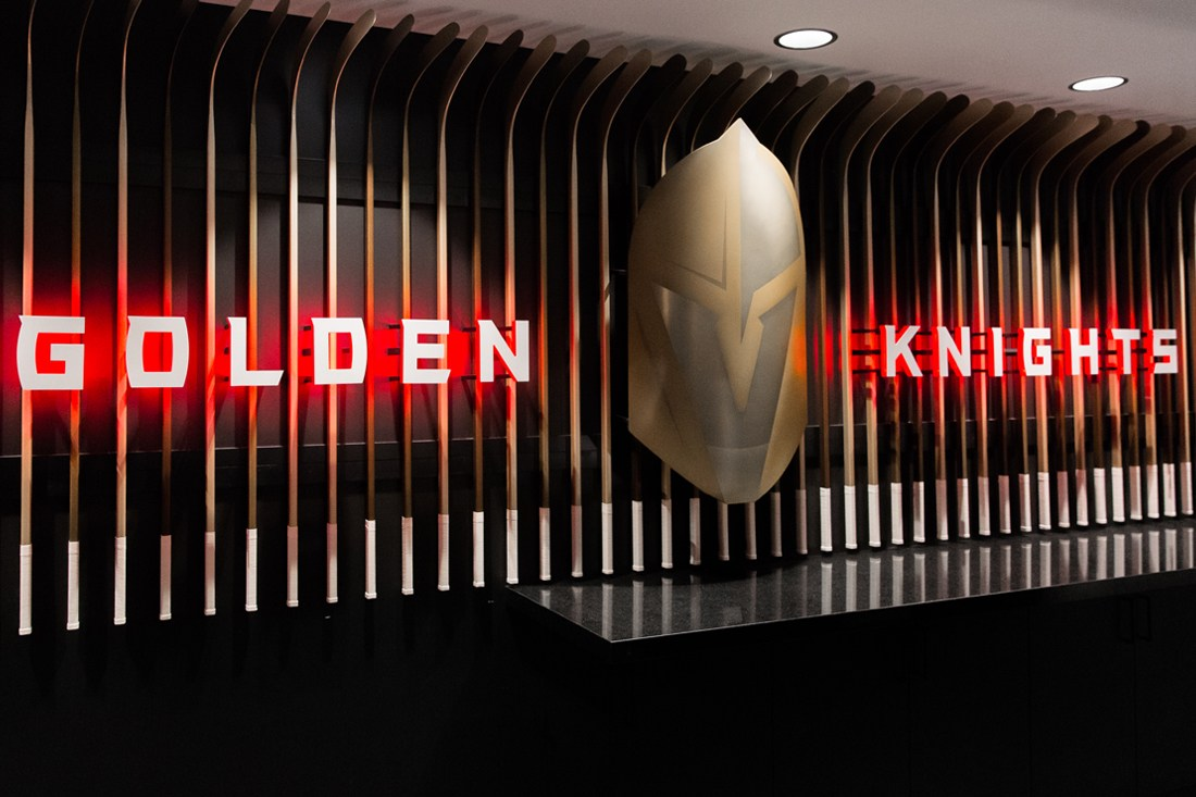 golden knights interior sign