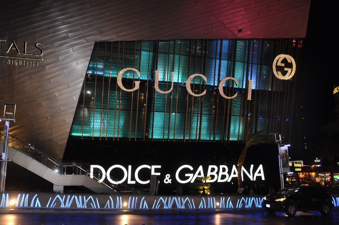 Gucci / Dolce & Gabbana Custom Sign