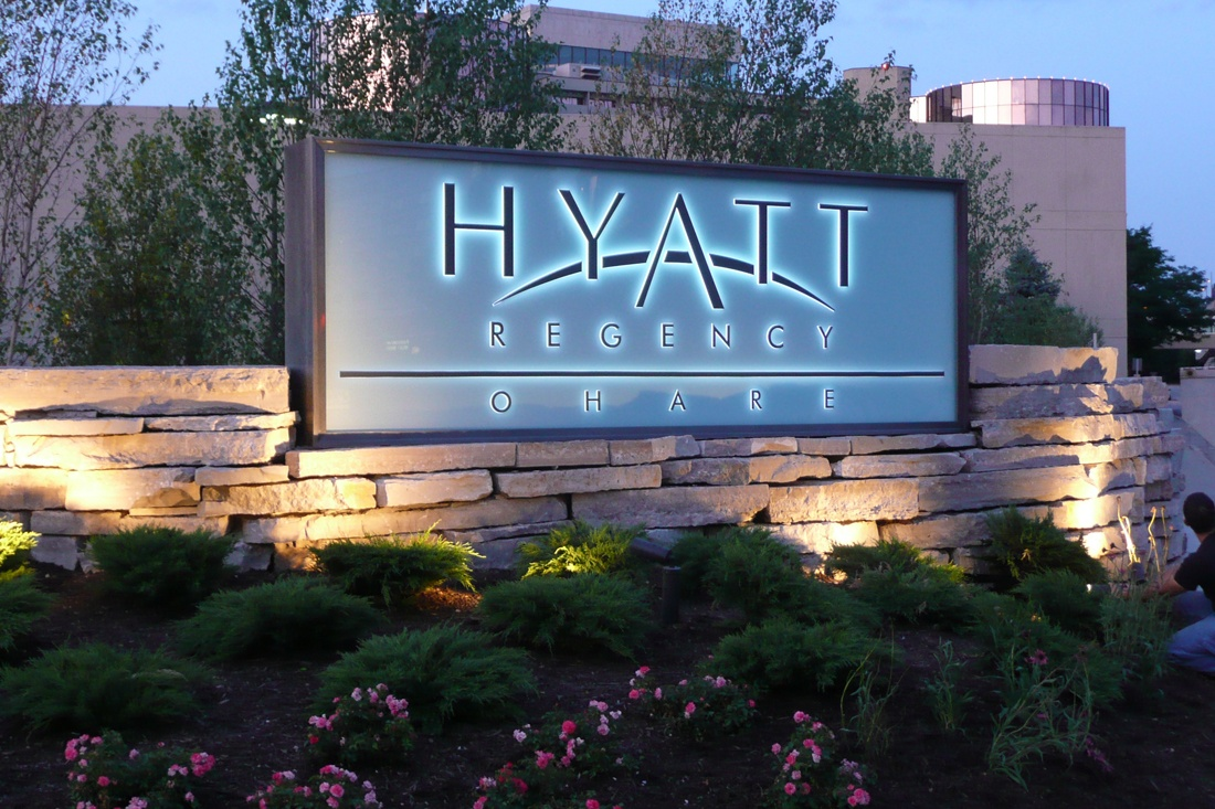 hyatt regency monument sign