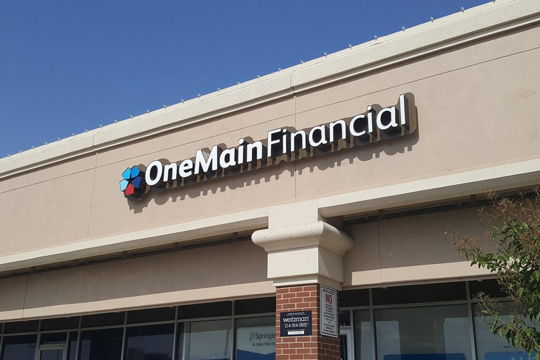 onemain financial channel letters