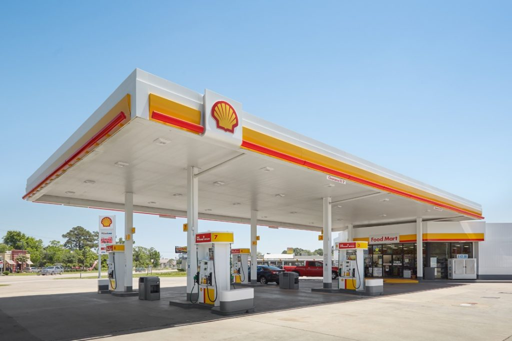 shell canopy daytime