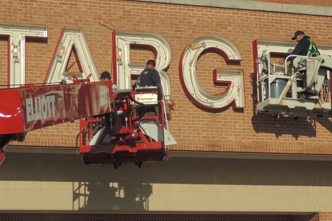 target led retrofit maintenance