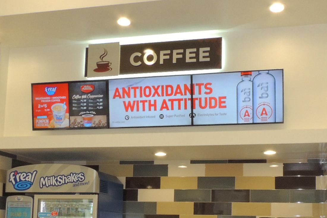 zippy j's antioxidants digital signage