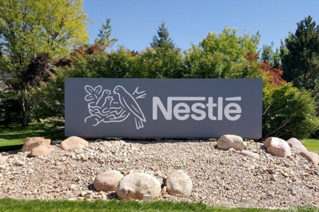 nestle corporate monument sign