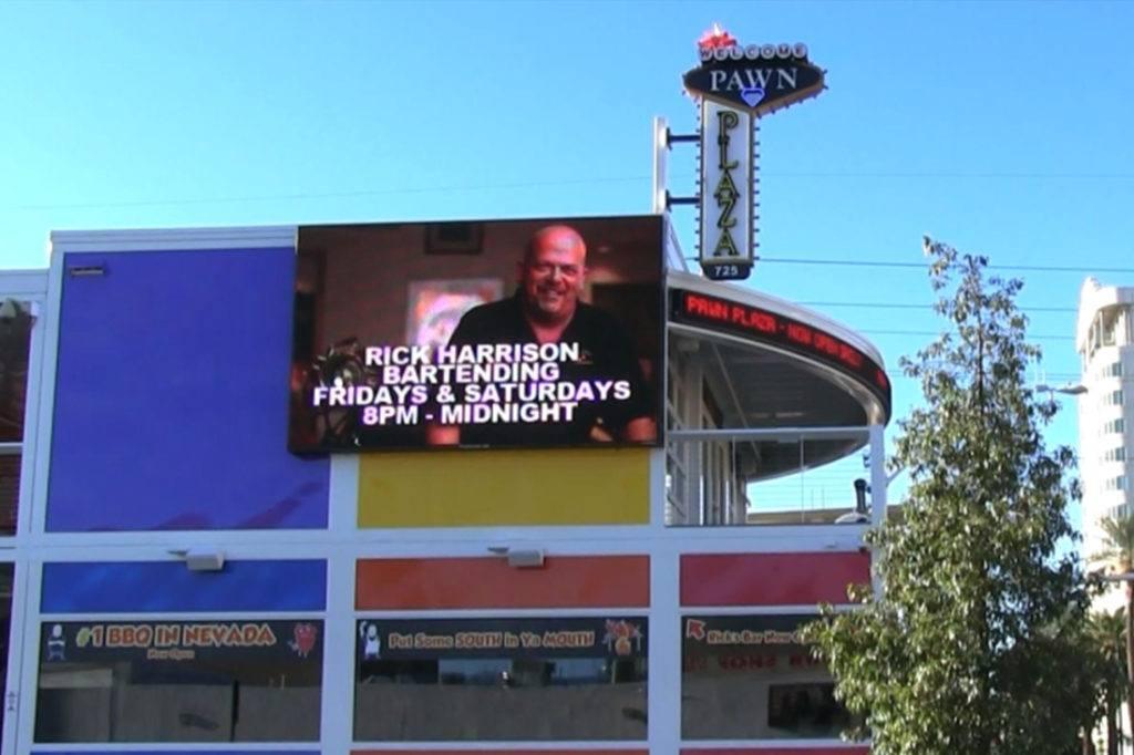 pawn plaza digital signage