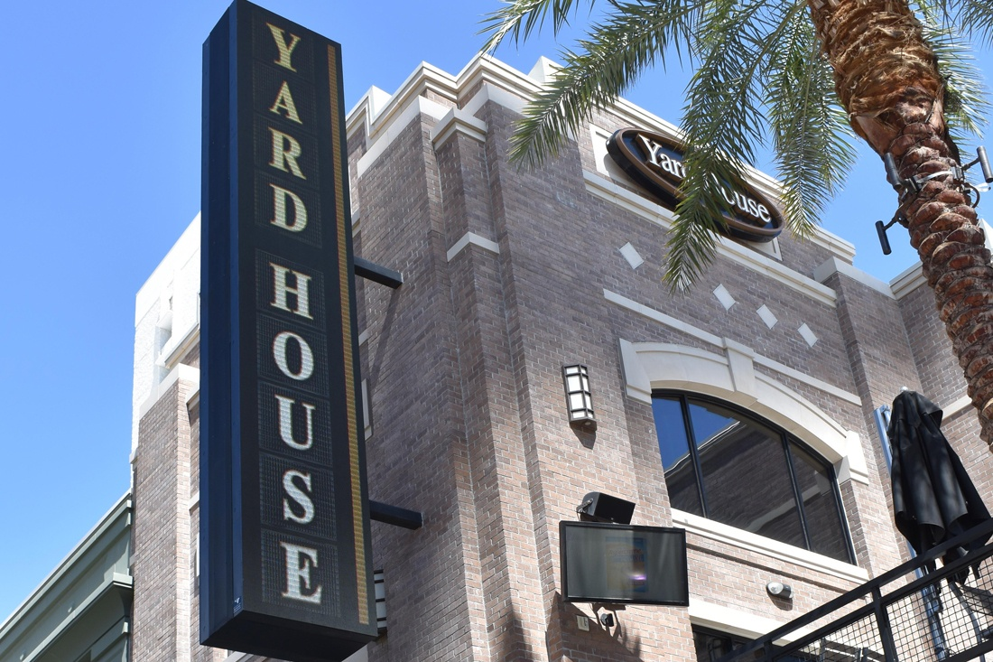 Yard House LED Sign