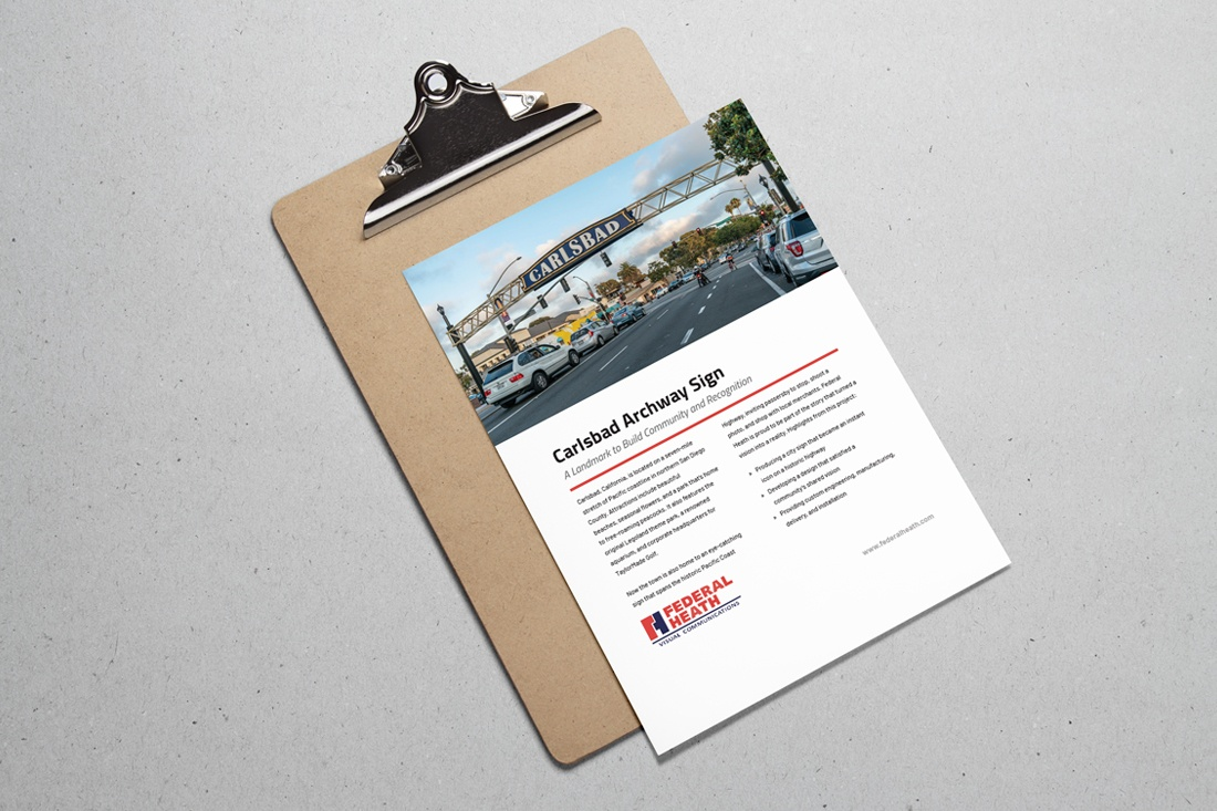 Carlsbad Archway Sign case study