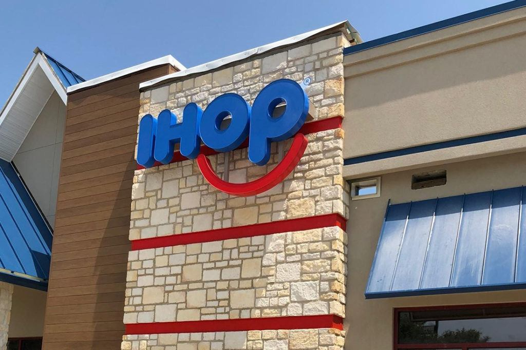ihop channel letters