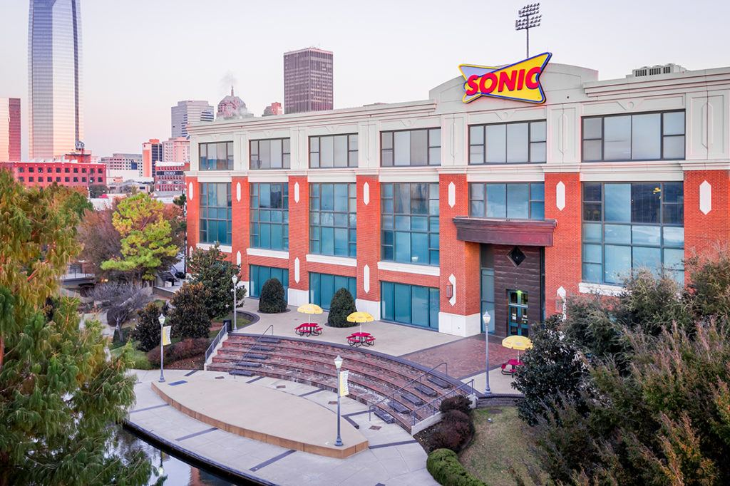 sonic cabinet corporate sign