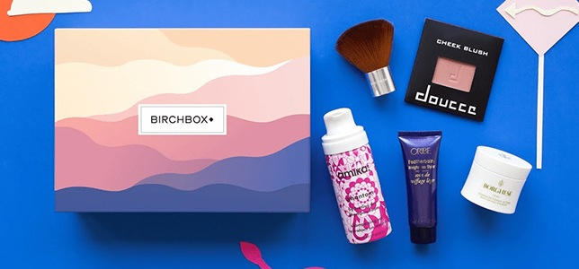 photo of birchbox products
