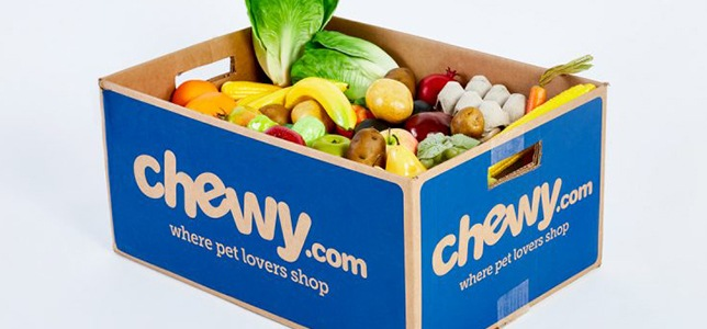 photo of chewy products