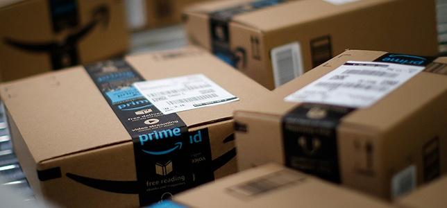 photos of amazon prime boxes