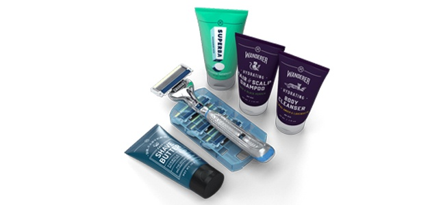 photo of dollar shave club products