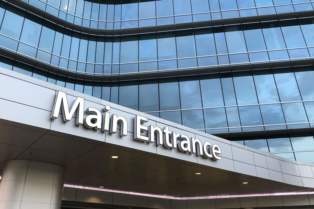 catholic health initiatives channel letters