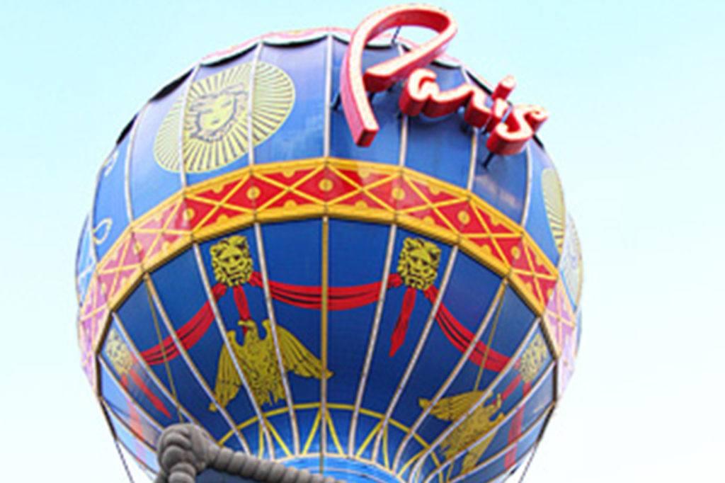 paris las vegas balloon