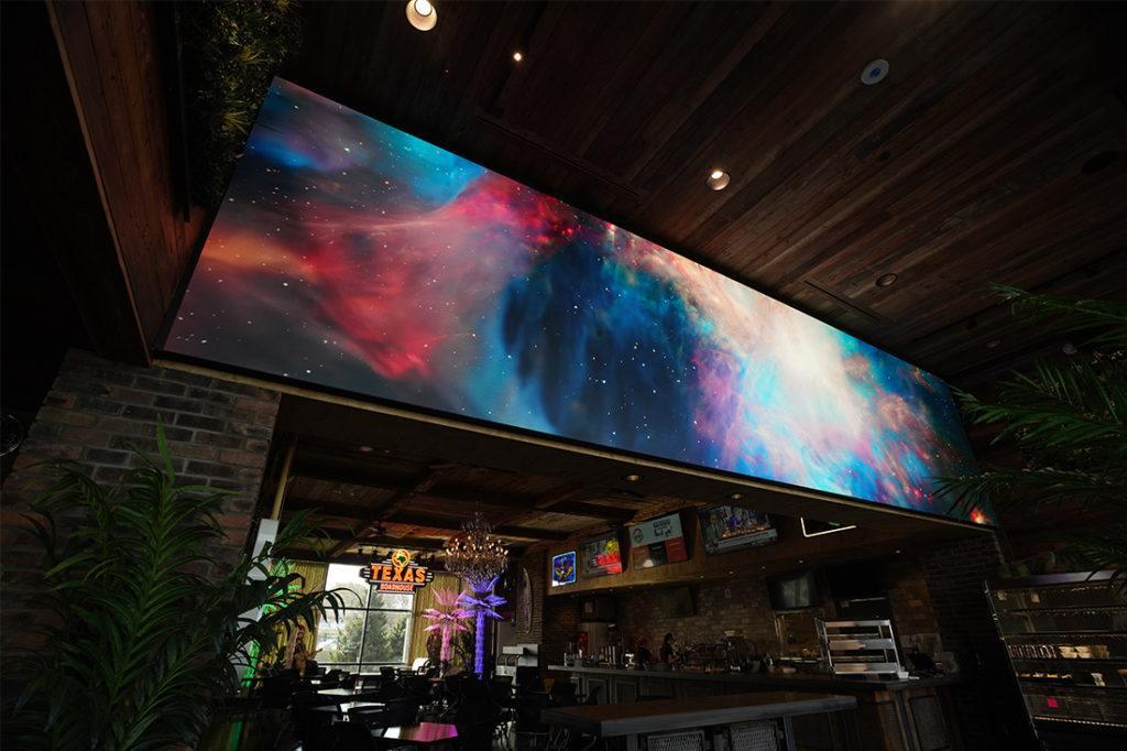 texas roadhouse video wall