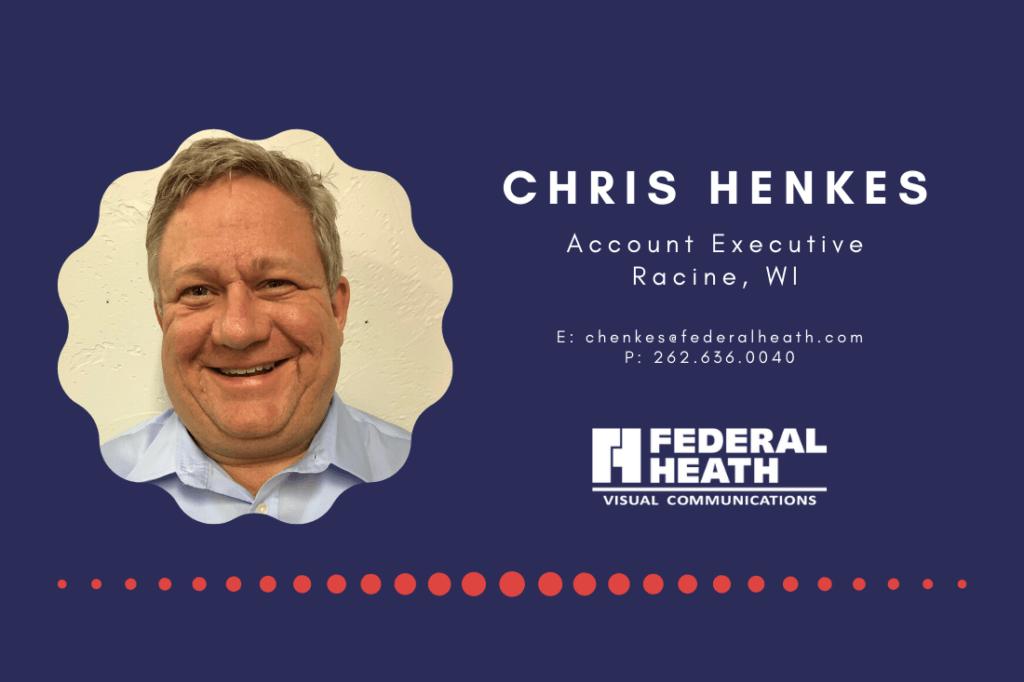 Chris Henkes, New Account Executive