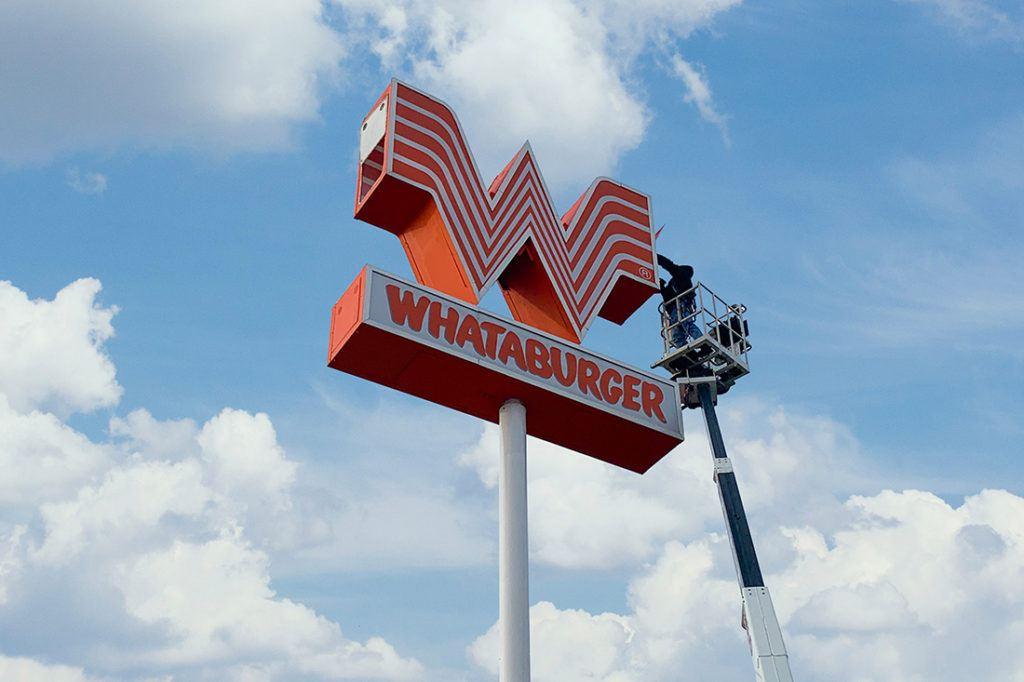 whataburger_maintenance_1100x733_replacing_lights_repairing_sign