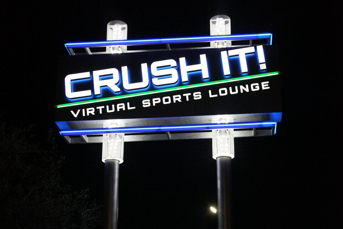 Crush It! Virtual Sports Lounge