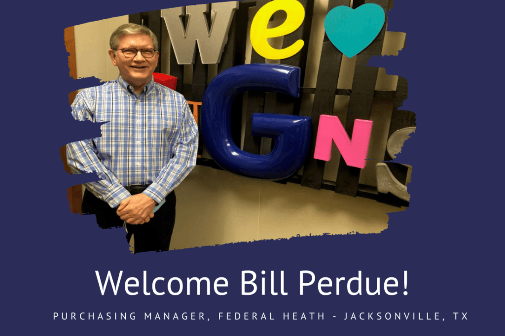 Welcome Bill Perdue
