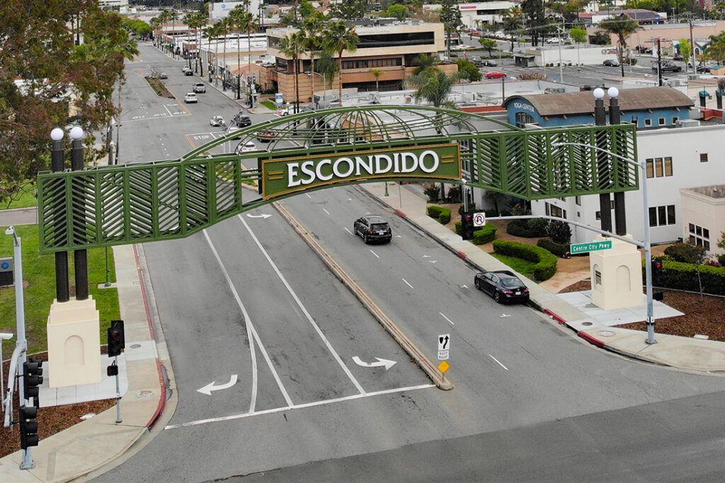 City of Escondido Archway