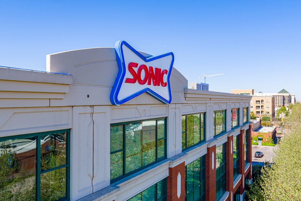 sonic corporate office signage 1100x733_0003_Final Sonic Sign Install-123